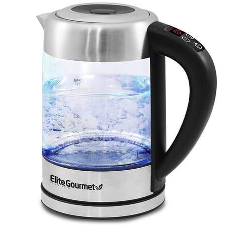 Elite Gourmet EKT-1789D Electric Programmable Kettle
