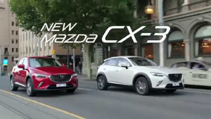 Mazda CX 3, style and sophistication