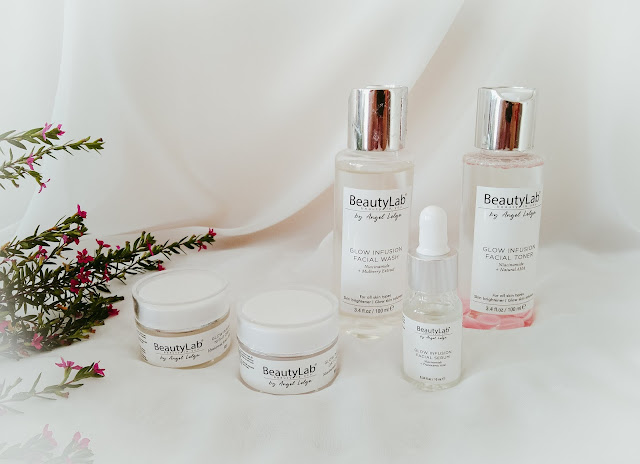 paket skincare beautylab glow infusion series by angel lelga