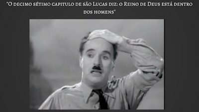 Charles Chaplin -  O maior discurso da historia do cinema
