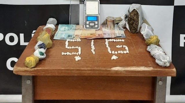 Naviraí - Adolescentes de 16 anos são apreendidos por suspeita de tráfico de drogas