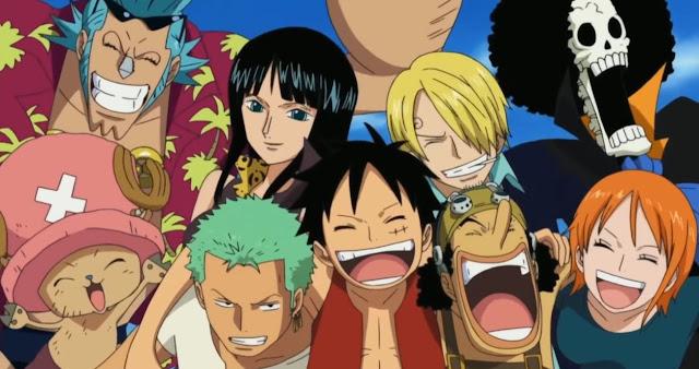 One Piece - bohaterowie anime