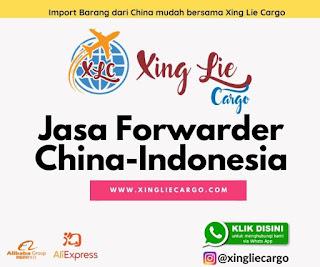 jasa cargo china ke indonesia