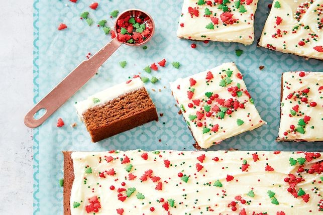 Turtă dulce Frosted gingerbread slab