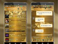 BBM Mod Luxury Gold V2.13.1.14 Apk + Dual BBM