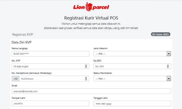 Cara Cara Daftar Lion Parcel Driver Terbaru 2021