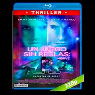 Un juego sin reglas: Nerve (2016) BRRip 720p Audio Dual Latino-Ingles