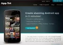 appyet cara buat aplikasi android