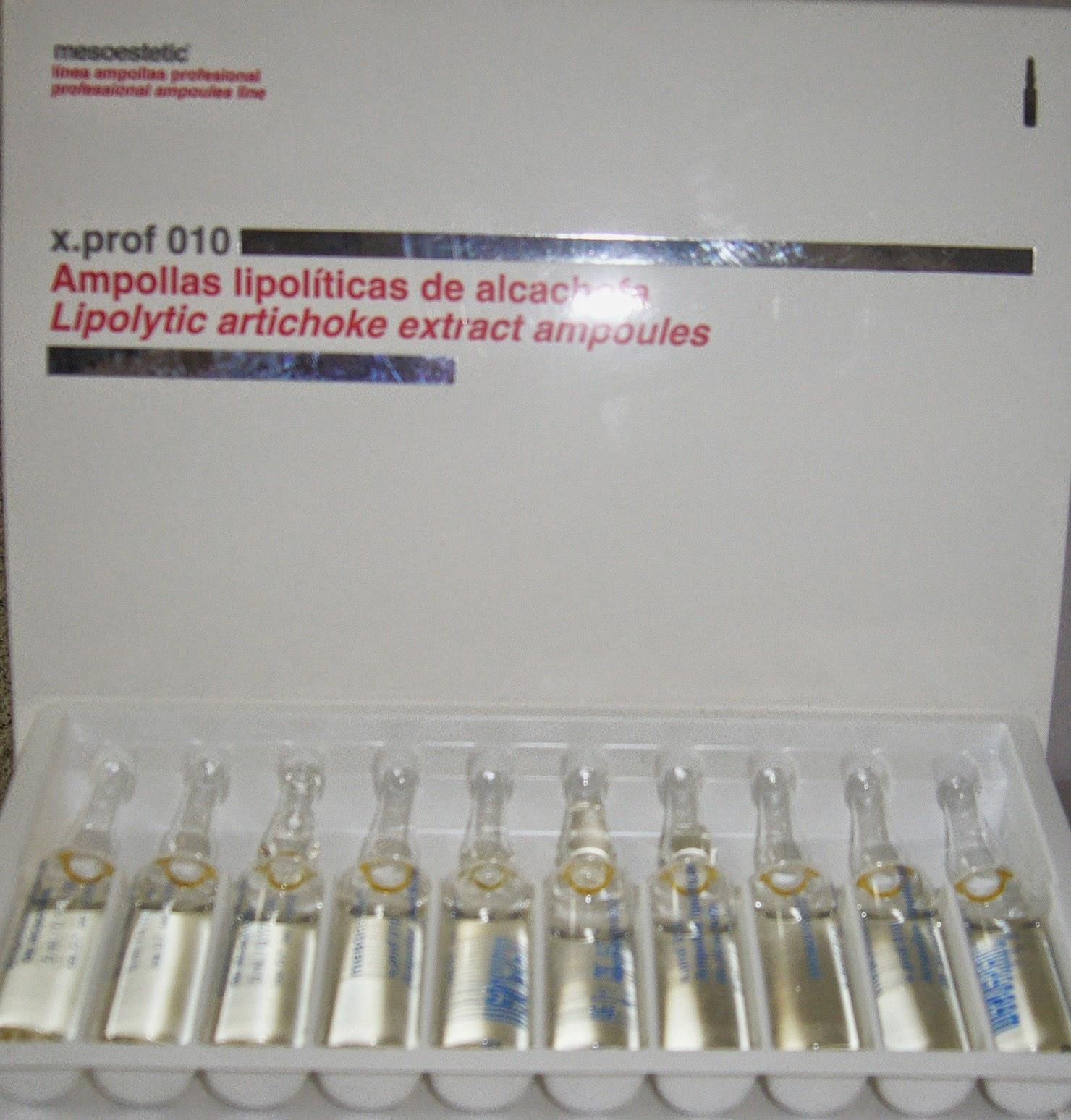 extracto de alcachofa 5 ampollas de 5 ml cada una la