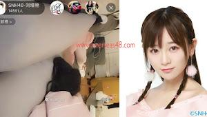 Liu Zengyan SNH48 Hanya Tidur saat Live, Penonton Siarannya Mencapai 40 Ribu Orang