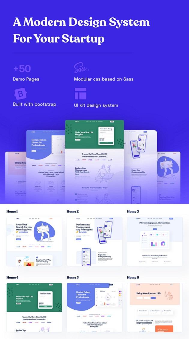 Digital & Marketing Agencies Theme