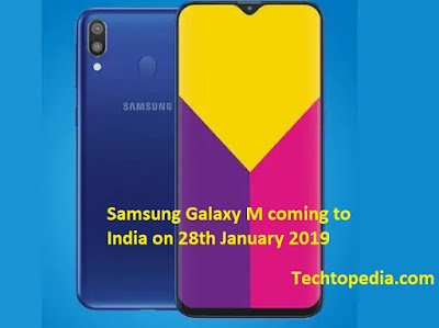 Samsung Galaxy M coming to India on 28th January 2019
