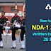 How to Crack NDA-1 2021 Written Exam in 20 Days : Click here