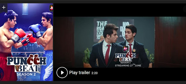 Play Puncch Beat (2018) Indian Web Series Trailer online for free