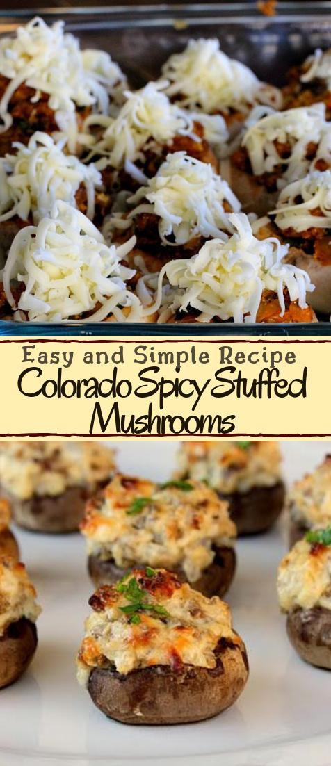 Mexican Stuffed Mushrooms #dinnerrecipe #food #amazingrecipe #easyrecipe