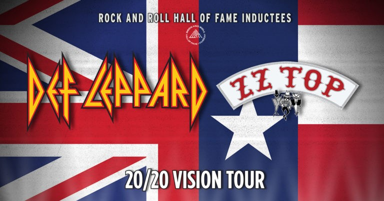 Def Leppard Announce Fall 20/20 Vision Tour with Guests ZZ Top