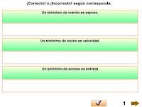 http://www.escueladeverano.net/lengua/todo/ejercicios_interactivos/unidad_5/sinonimas/vocabulario_sinonimos.html