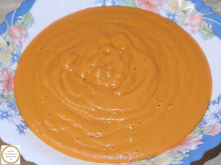 Supa crema de fasole de post reteta,