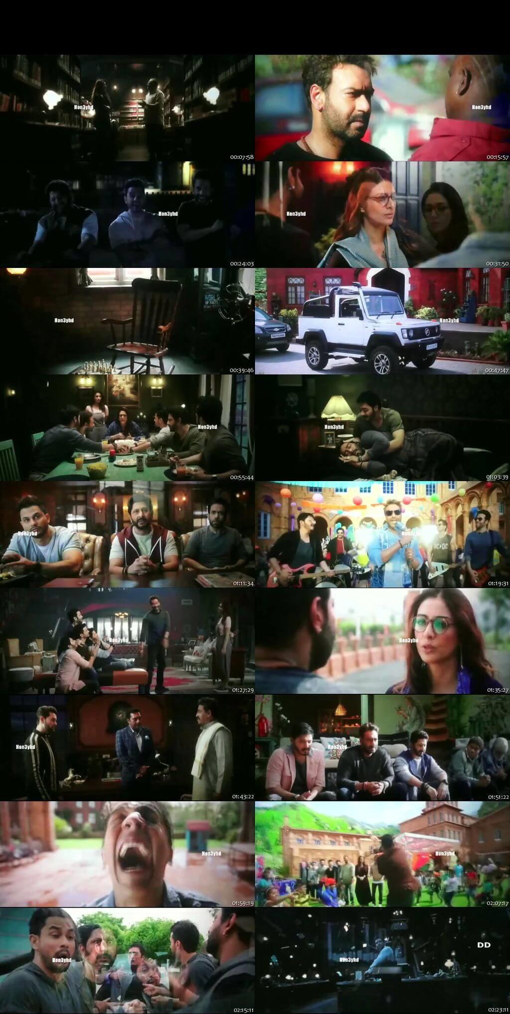 Screen Shot Of Golmaal Again 2017 300MB Pdvd Full Hindi Movie Watch Online Free Download