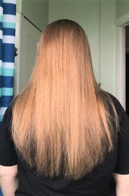 Liberex Hair Straightening Brush After Results