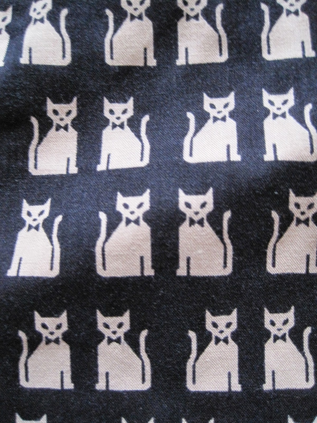 estampado gatos cat print