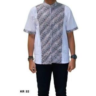 gambar baju koko motif batik
