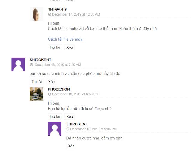 khung comment đã thay avatar hình nhân