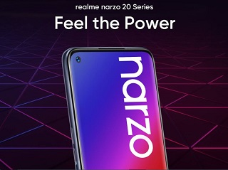 Realme Narzo 20 Series is Going to be Launched in India on 21 Sep