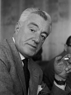 The director Vittorio de Sica