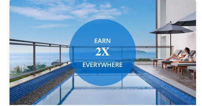 Earn double points on Hyatt stays starting with your second stay with World of Hyatt's Bonus Journeys promotion