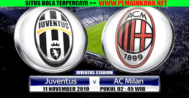 Big Match Liga Italia Pekan Ini : Juventus VS AC MIlan