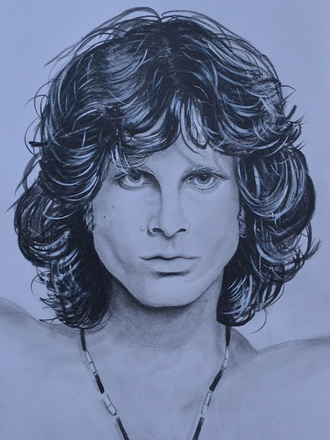 Jim Morrison - Claudio Tomassini Retratos