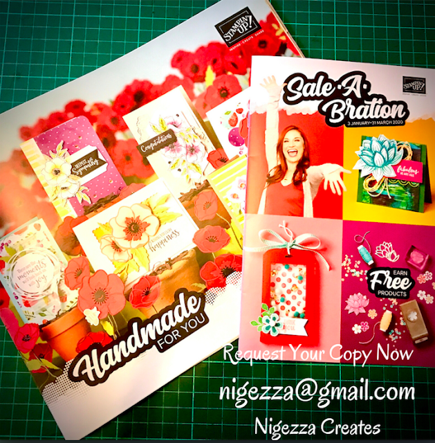 Nigezza Creates New Stampin' Up! Catalogue Request