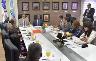Ministro de Educación encabeza sesión directiva del INAFOCAM