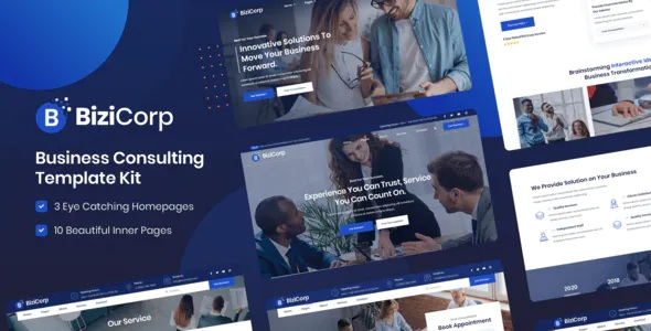 Best Business Consulting Template Kit