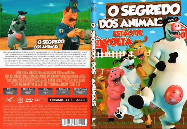 Capa DVD O Segredo Dos Animais