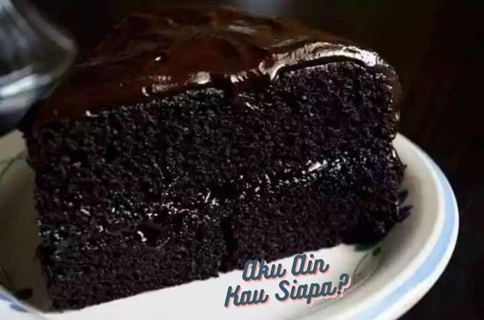 Resepi Kek Coklat Moist Mudah