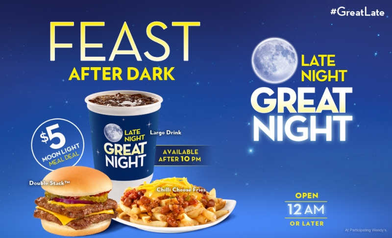 news wendy s 5 late night combo brand eating