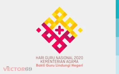 Hari Guru Nasional 2020 Kemenag Logo - Download Vector File SVG (Scalable Vector Graphics)
