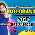 Bocoran Misteri 4D SGP 28 Juni 2020