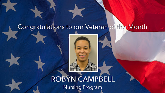 Vet of the Month Robyn Campbell