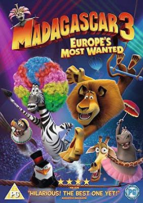 Madagascar 3 – Europes Most Wanted 2012 Dual Audio Hindi 720p BluRay 800mb