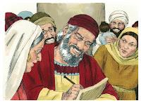 Luke 01:62-66 Birth of John the Baptist/Zechariah as priest