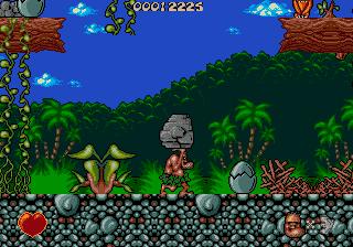 Jogue gratis Chuck Rock online para Mega Drive