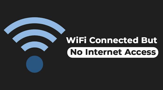 حل مشكلة متصل ولكن لا يوجد انترنت على الموبايل والكمبيوتر