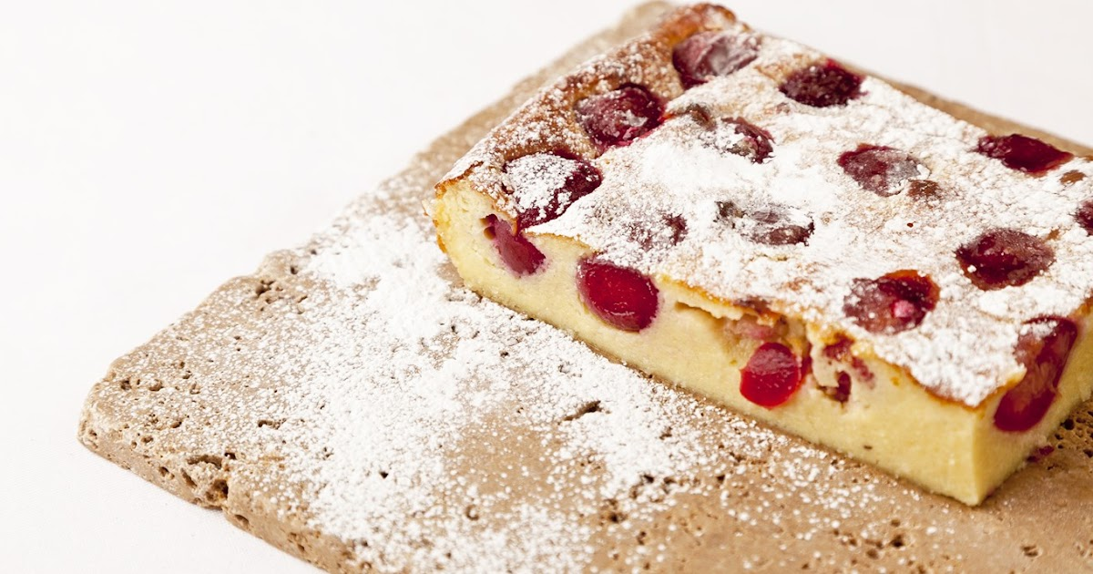 Fabulously French: French food Friday...Griotte cherry clafoutis