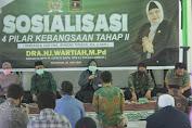 Wartiah Sosialisasi Empat Pilar Kebangsaan di Nurul Islam.