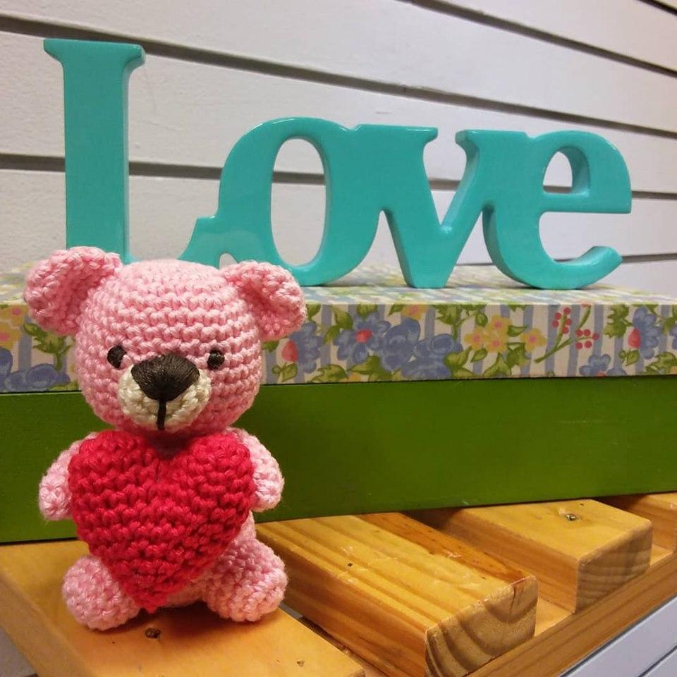 Chaveiro Amigurumi - Urso Teddy Bear no Elo7 | Leila Amigurumi ... | 960x960