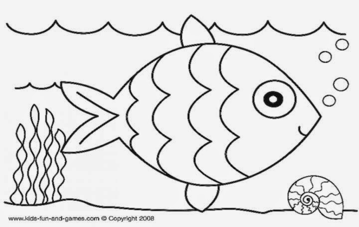 Free Printable Rainbow Fish Coloring Pages – Colorings.net