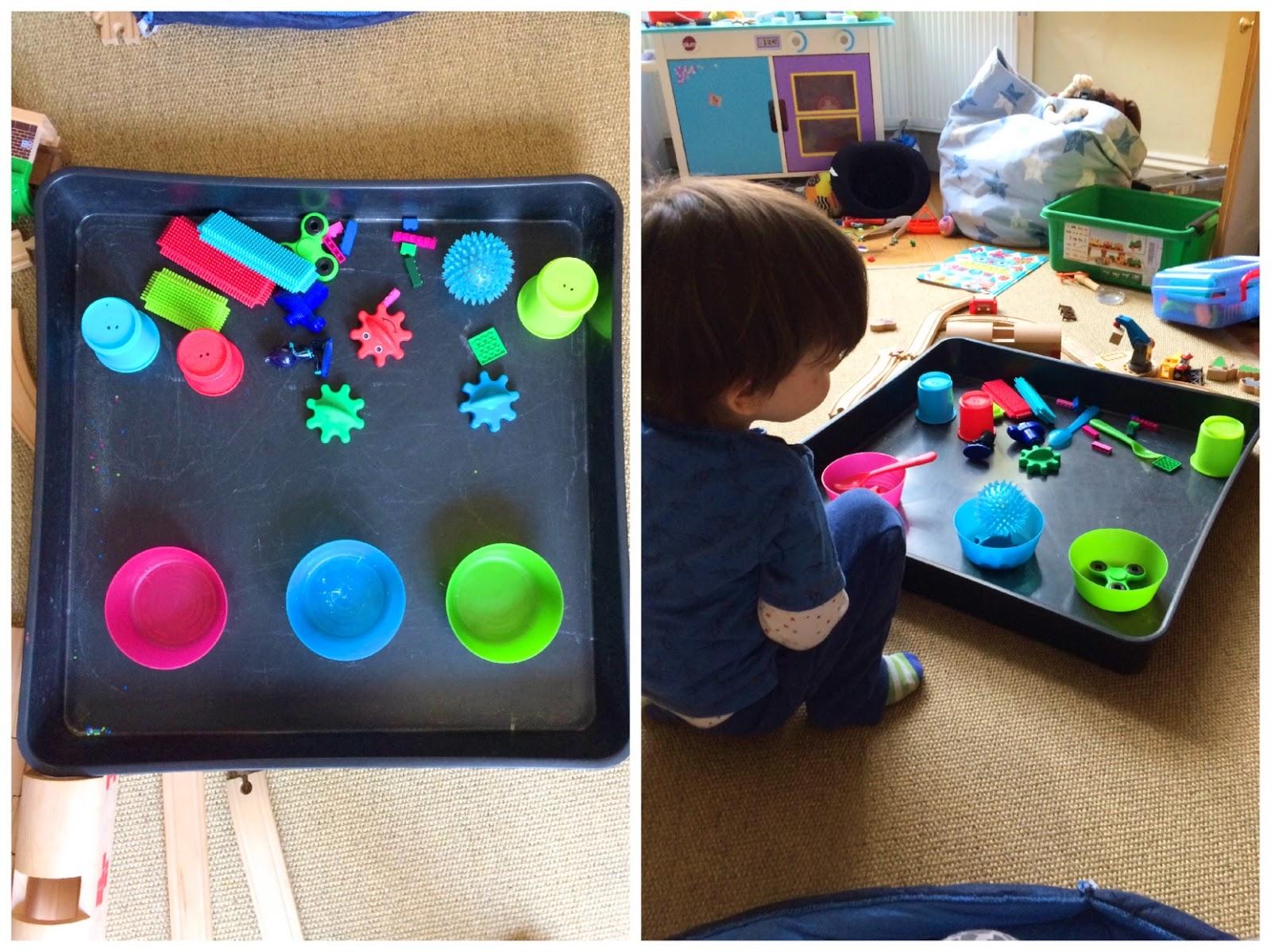 Play Horray tuff spot colour sorting